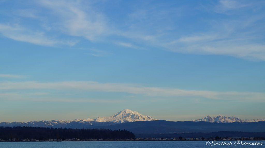 Mount Baker from Sea