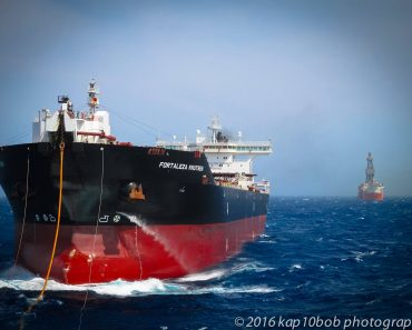 Shuttle Tanker Oil Rig